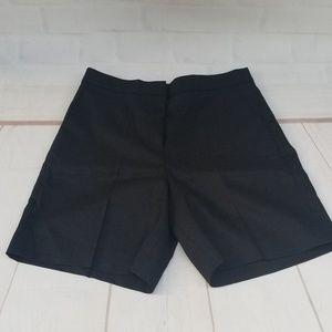 J. Crew Bermuda Black Linen Bermuda Shorts ~ NWT!!